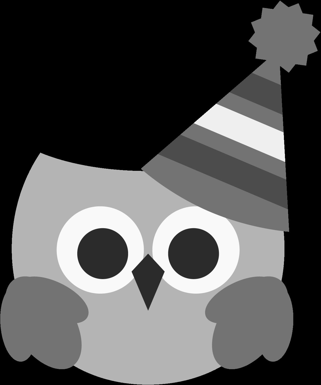 Clipart birthday owl. Clipartblack com animal free