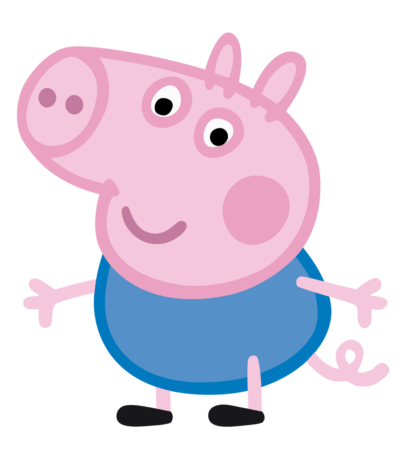 Pig clipart animated. Cartoon characters peppa png