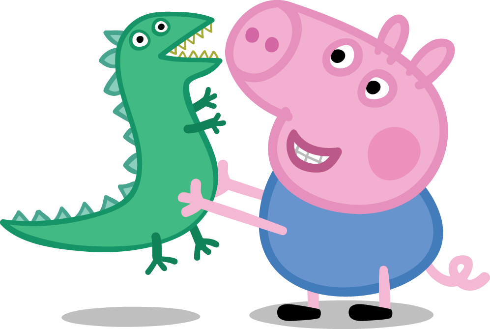Fishing clipart floater. Free peppa pig at