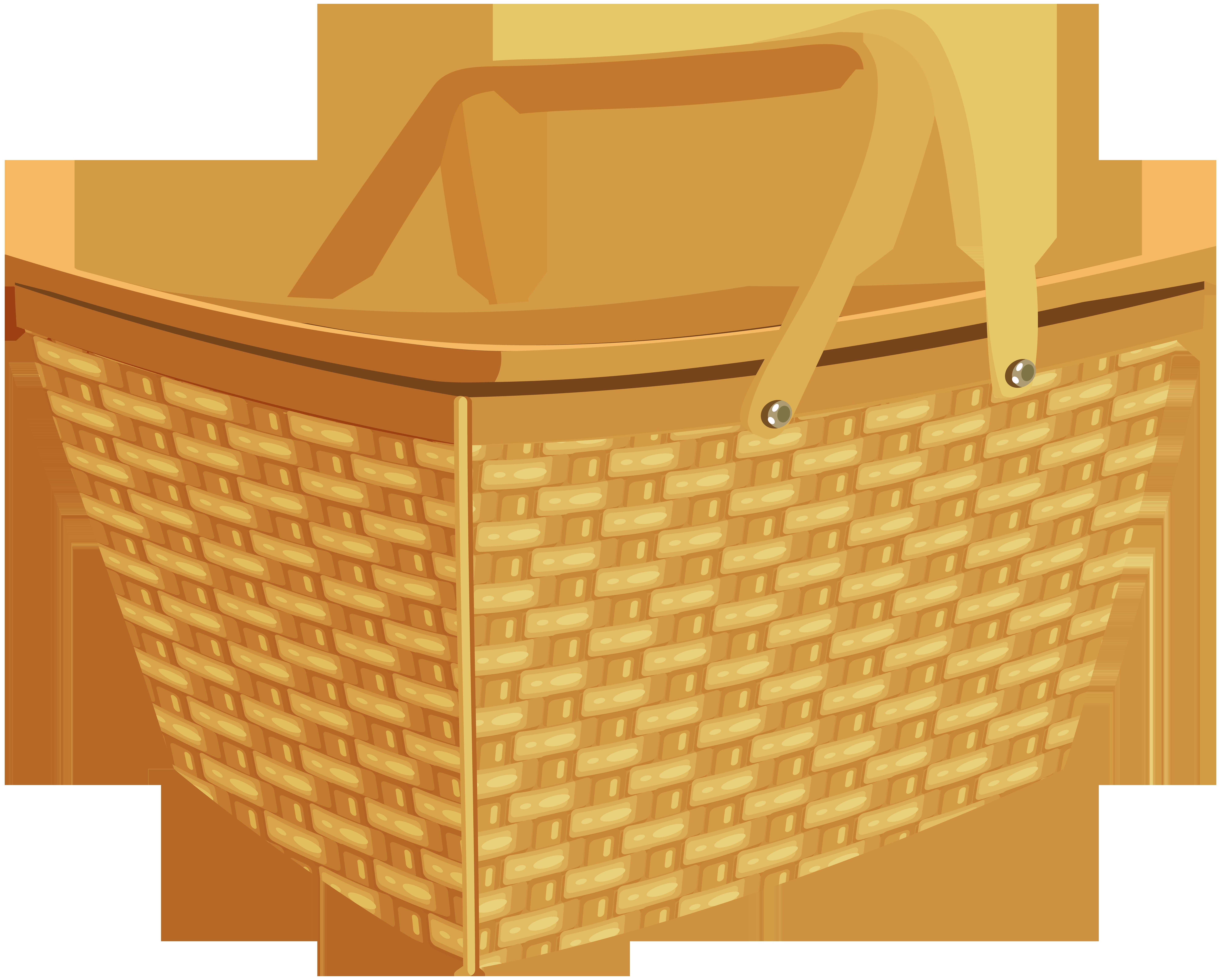 Picnic png clip art. Movies clipart basket