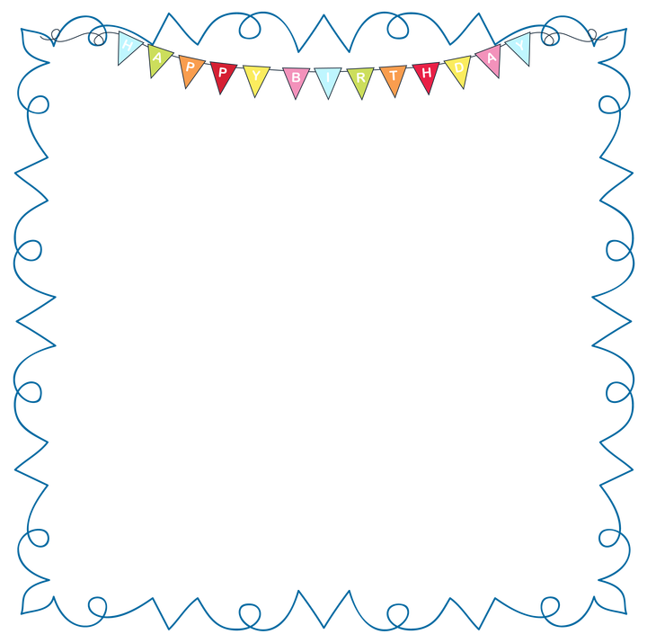 Clipart birthday picture frame. Pixels st com framess