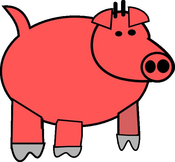 Cartoon at getdrawings com. Pig clipart fence