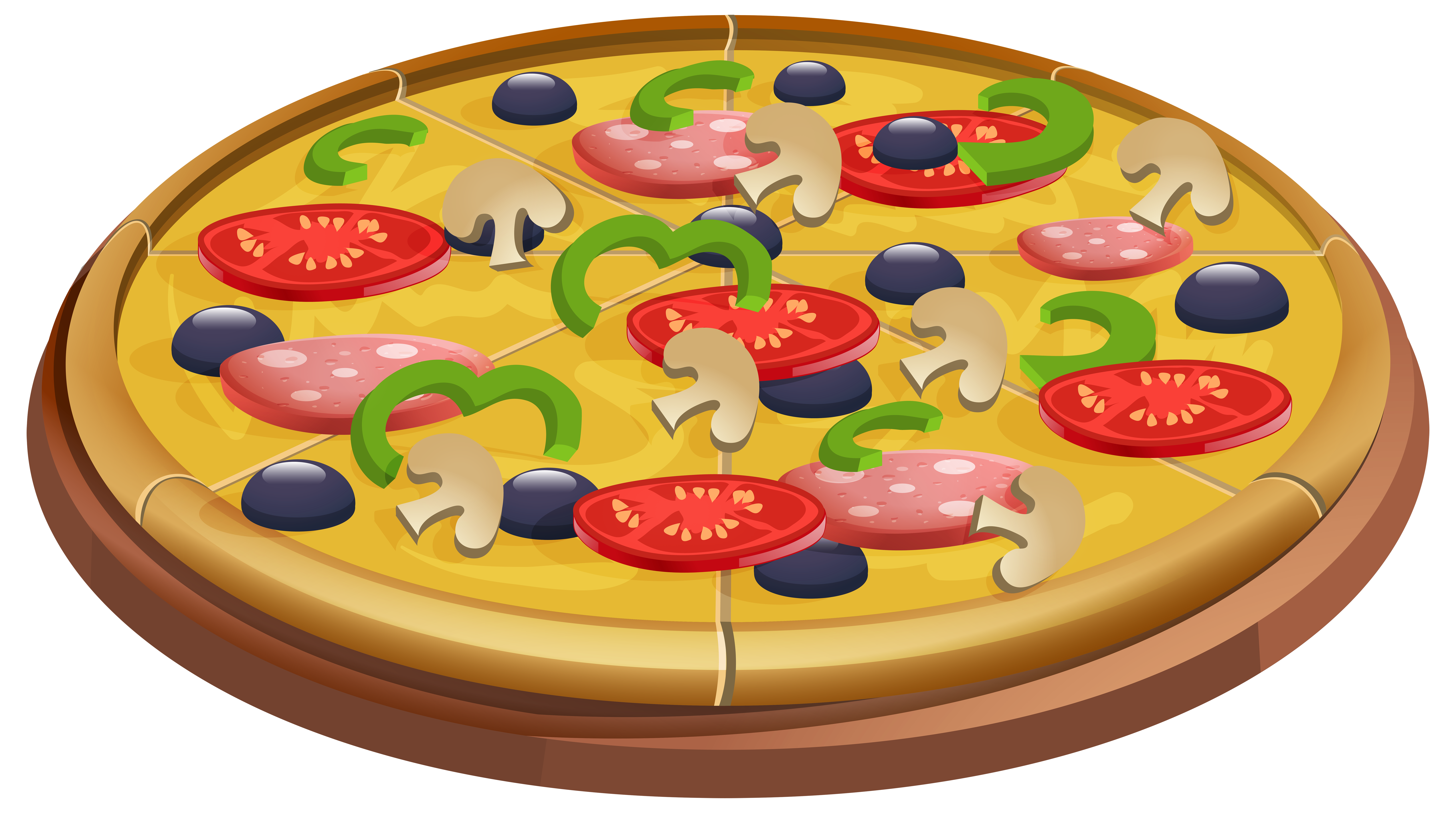 Png clip art image. Halloween clipart pizza