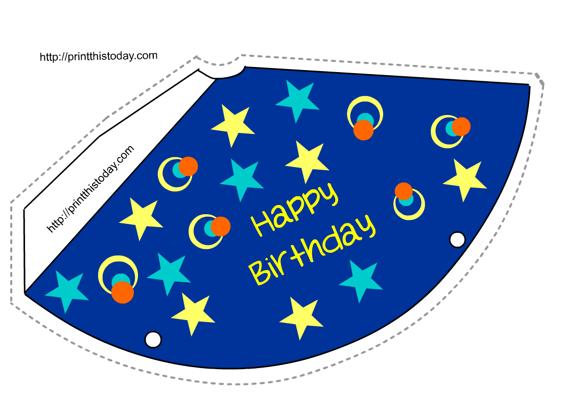 Cop clipart cap. Free birthday party hat