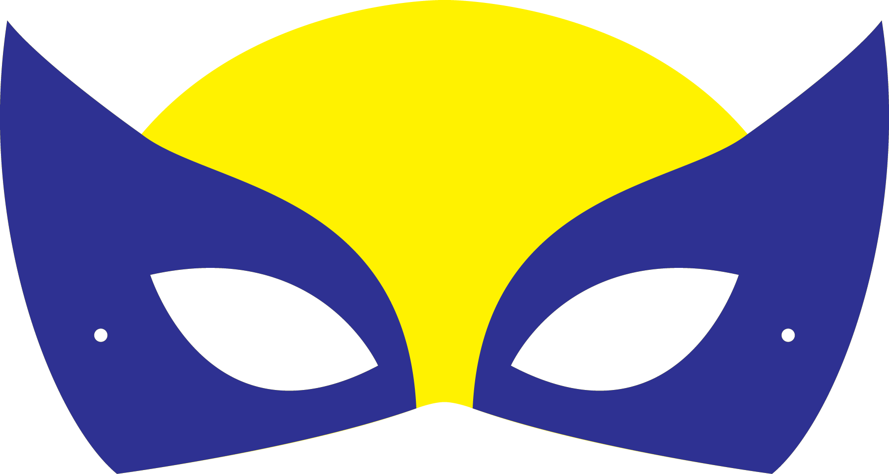 image relating to Super Hero Printable Masks known as Hero clipart superhero mask, Hero superhero mask Clear