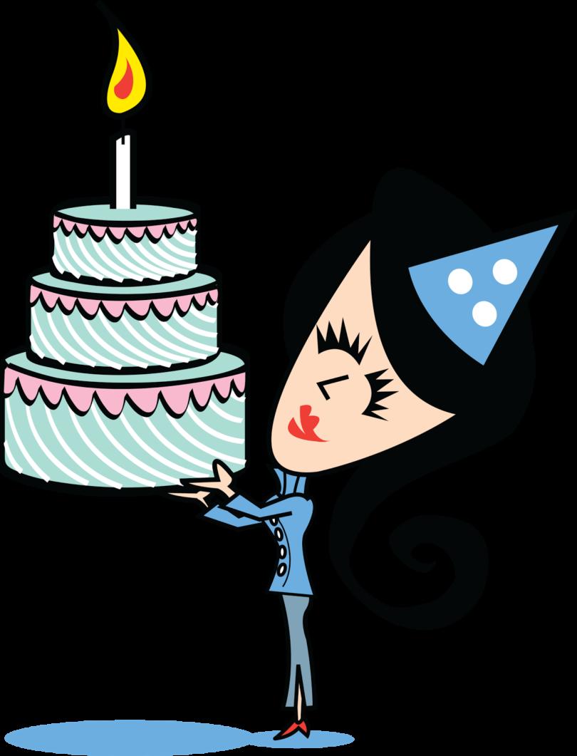 Blue girl marblehead of. Clipart birthday school