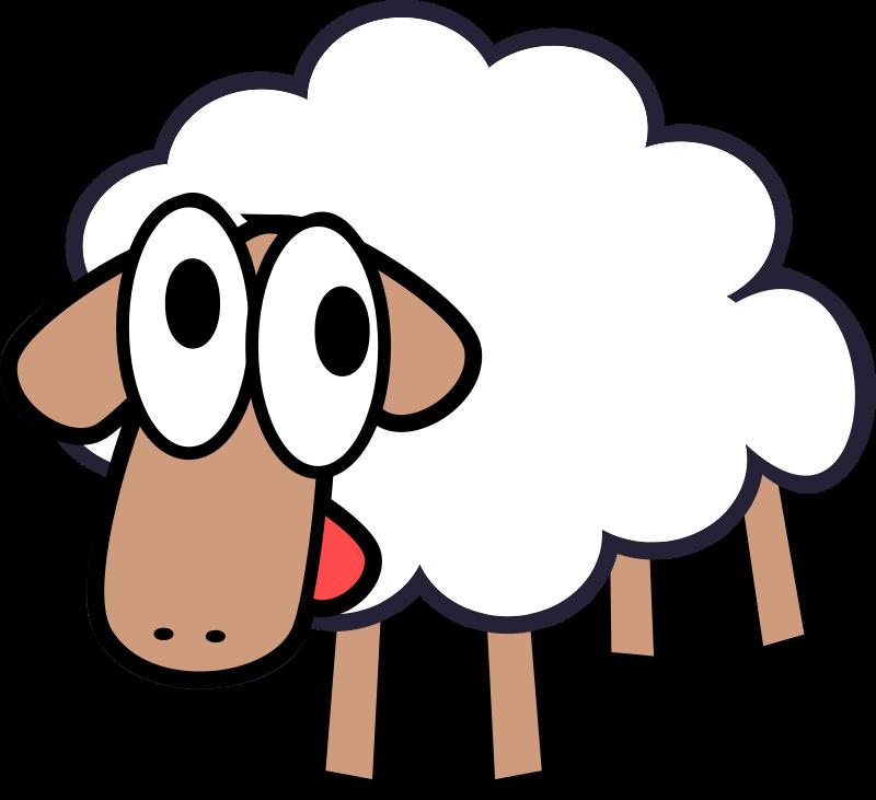 PNG Sheep Cartoon Transparent Sheep Cartoon