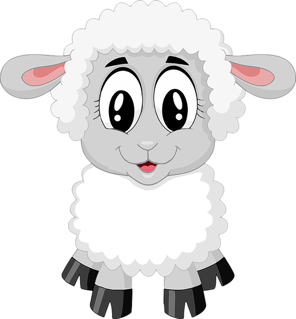 Ox clipart fat sheep. Free image on pixabay