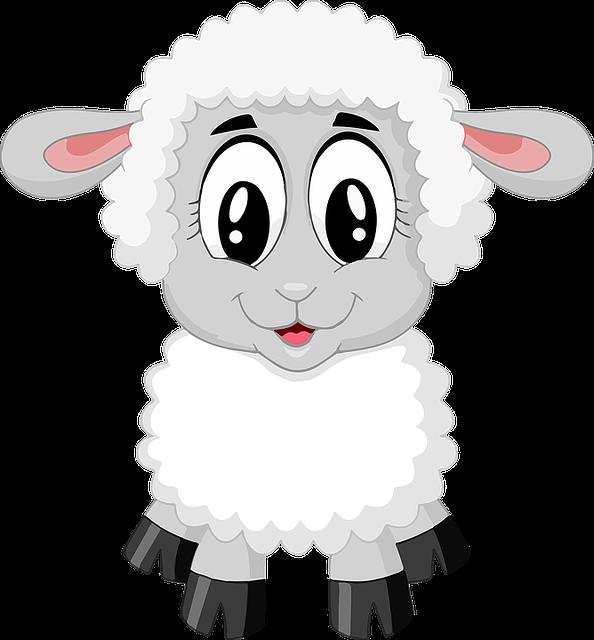 Free image on pixabay. Lamb clipart bible shepherd