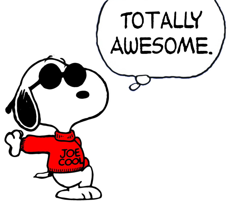 collection of snoopy. Cool clipart joe
