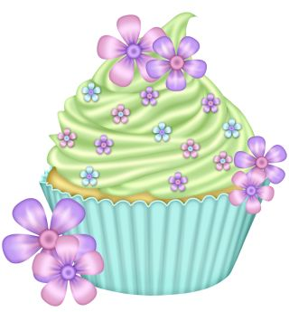 Cupcakes clipart april. Free spring birthday cliparts