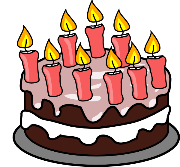 Clip art free pictures. Clipart cat birthday cake