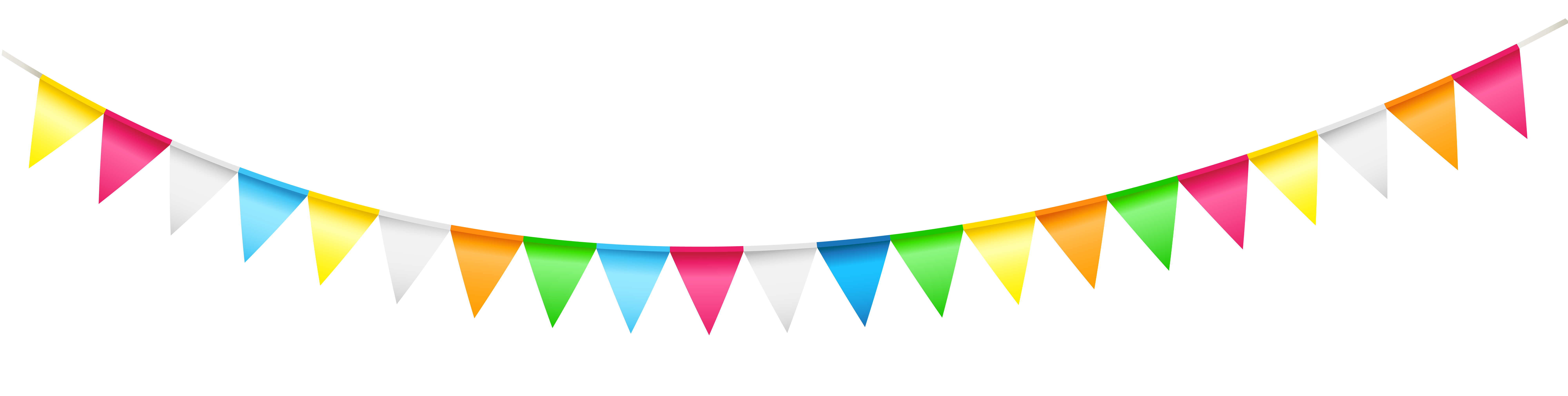 Garland clipart streamer. Party transparent png clip