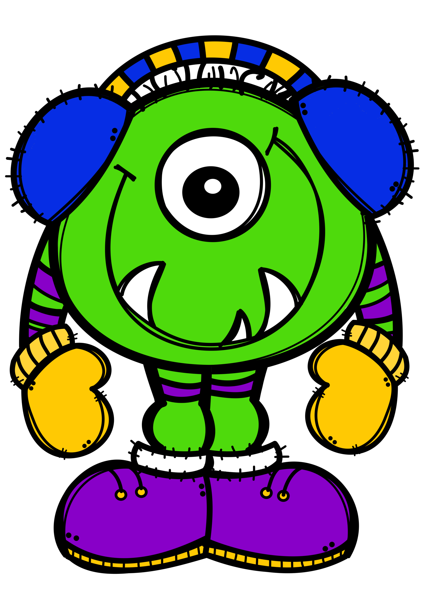 Clipart halloween alien. Ch b de teachers