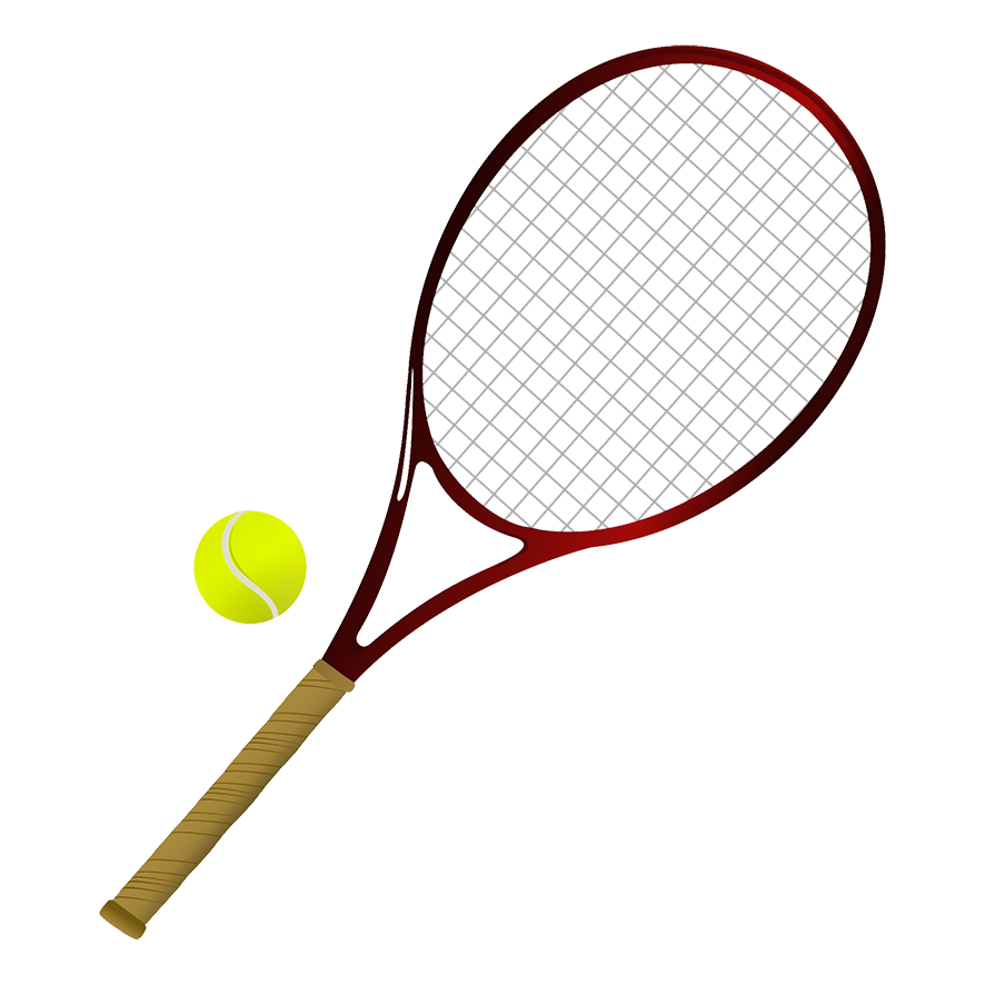 Words clipart tennis. Different kinds of sports