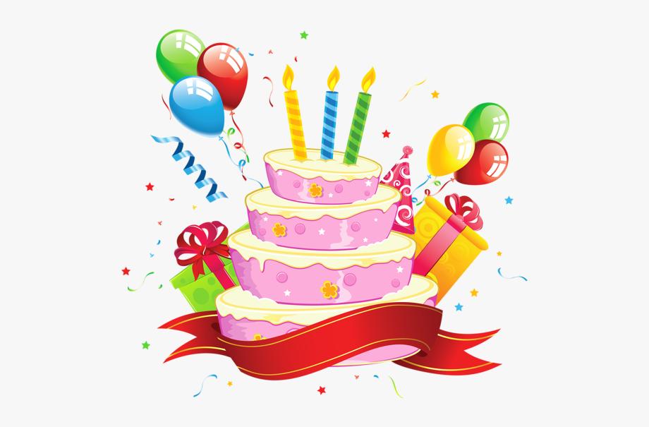 Decoration clipart cartoon party. Birthday transparent background