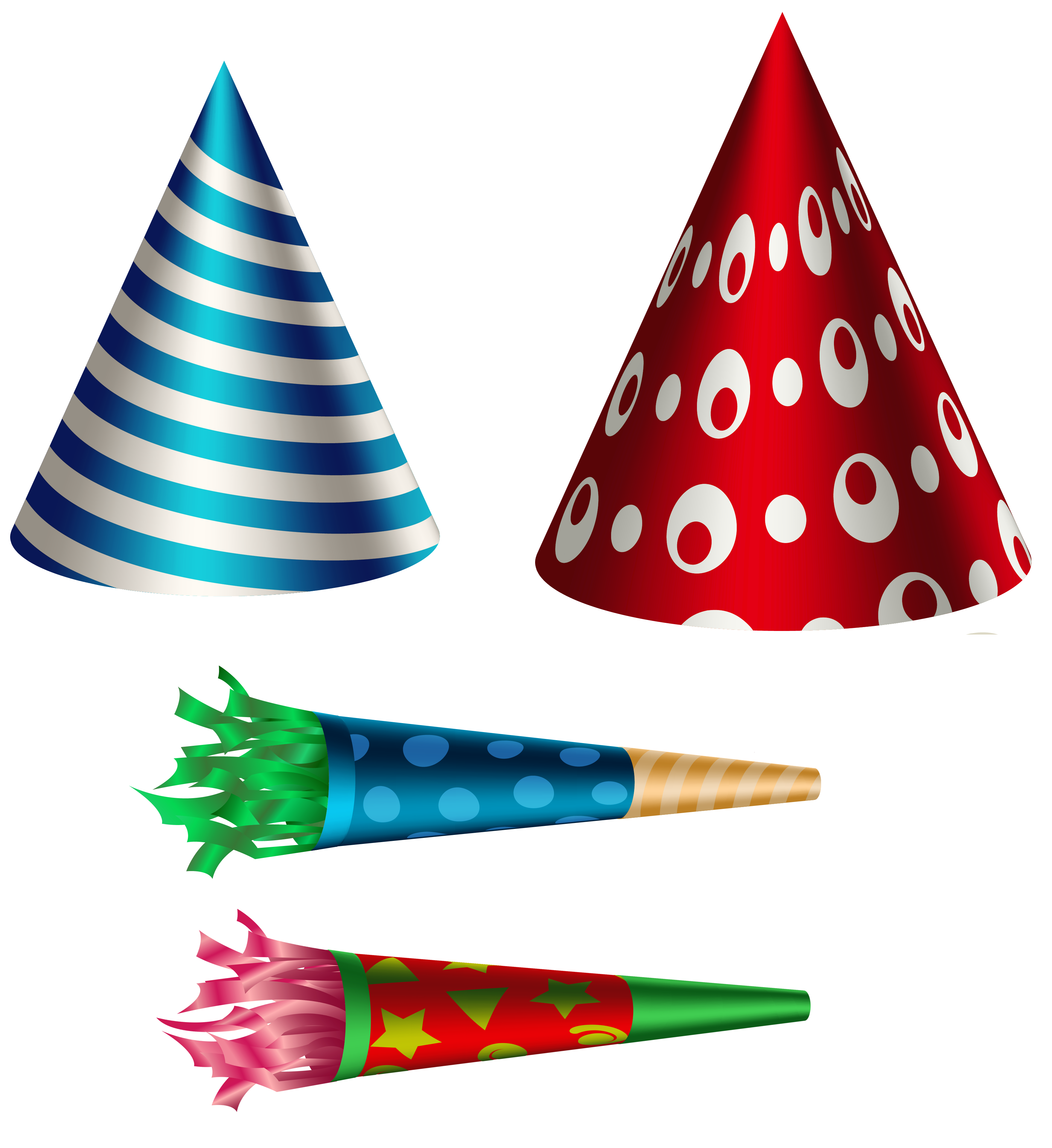 Tree clipart birthday. Party set transparent png