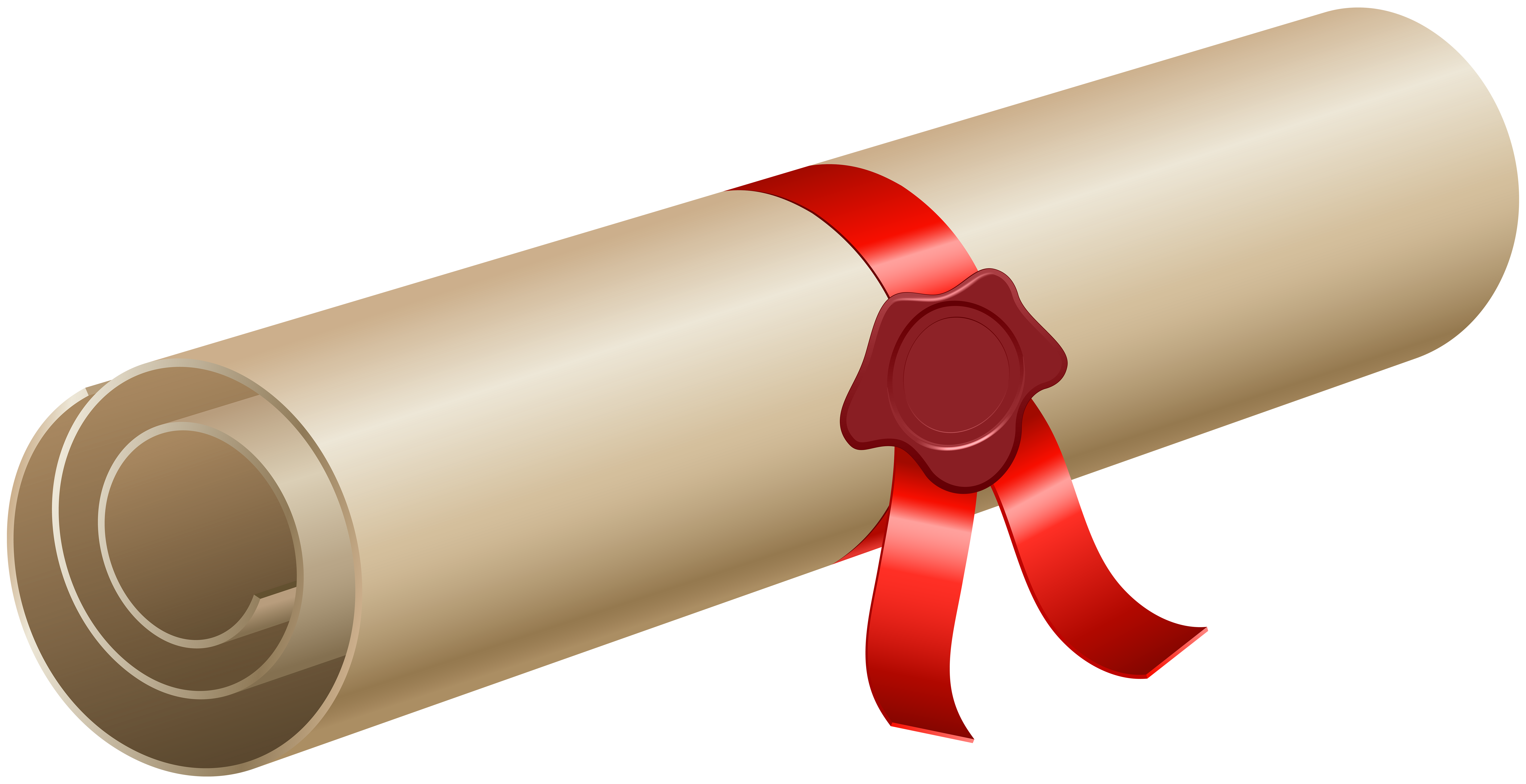 Diploma clipart transparent background. Png clip art image