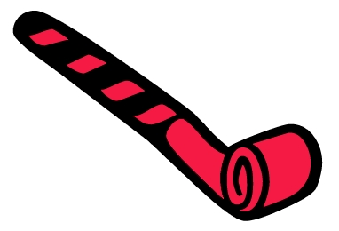 27+ Cartoon Party Blower Png Gif