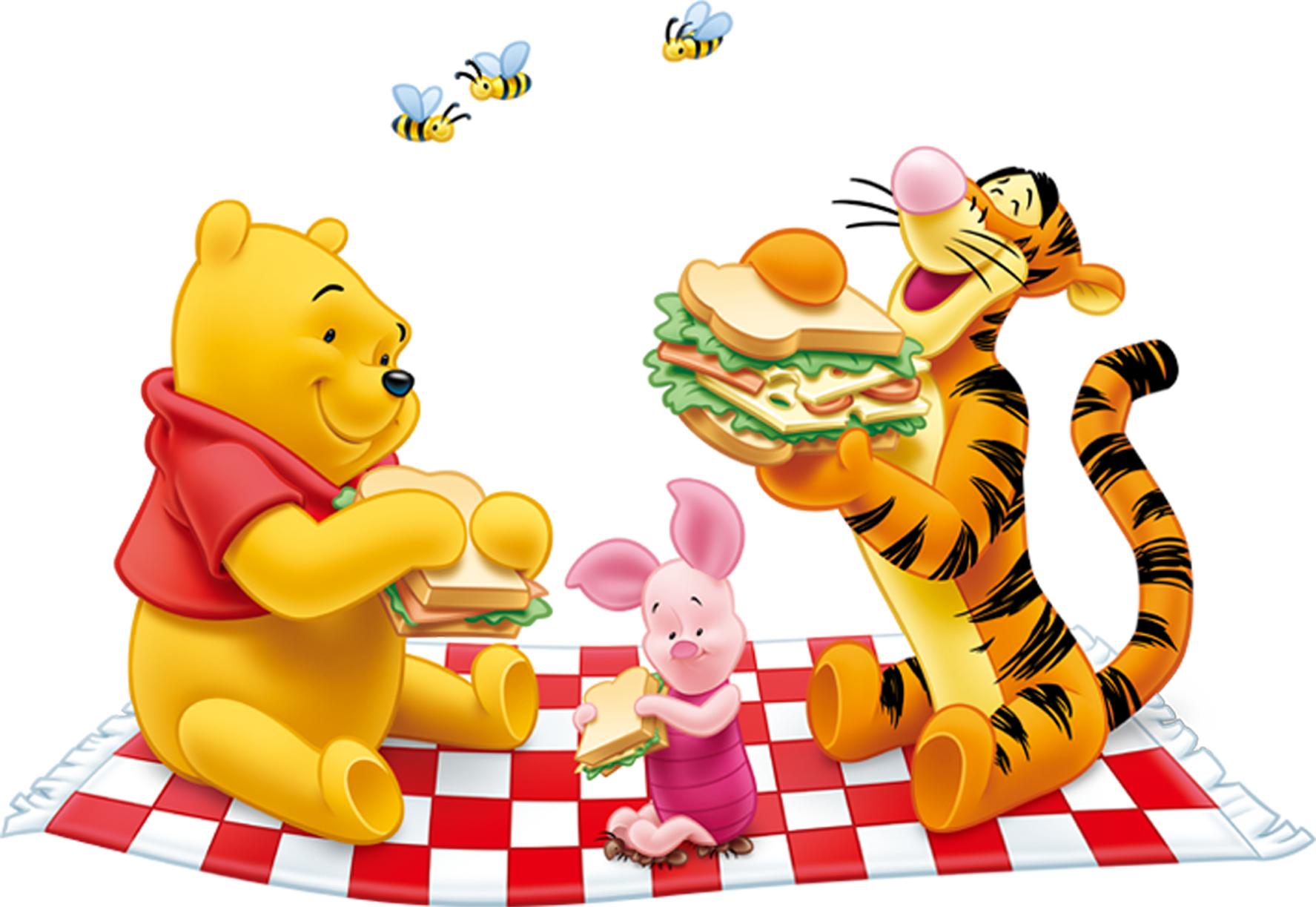 Luncheon clipart birthday. Winnie the pooh and