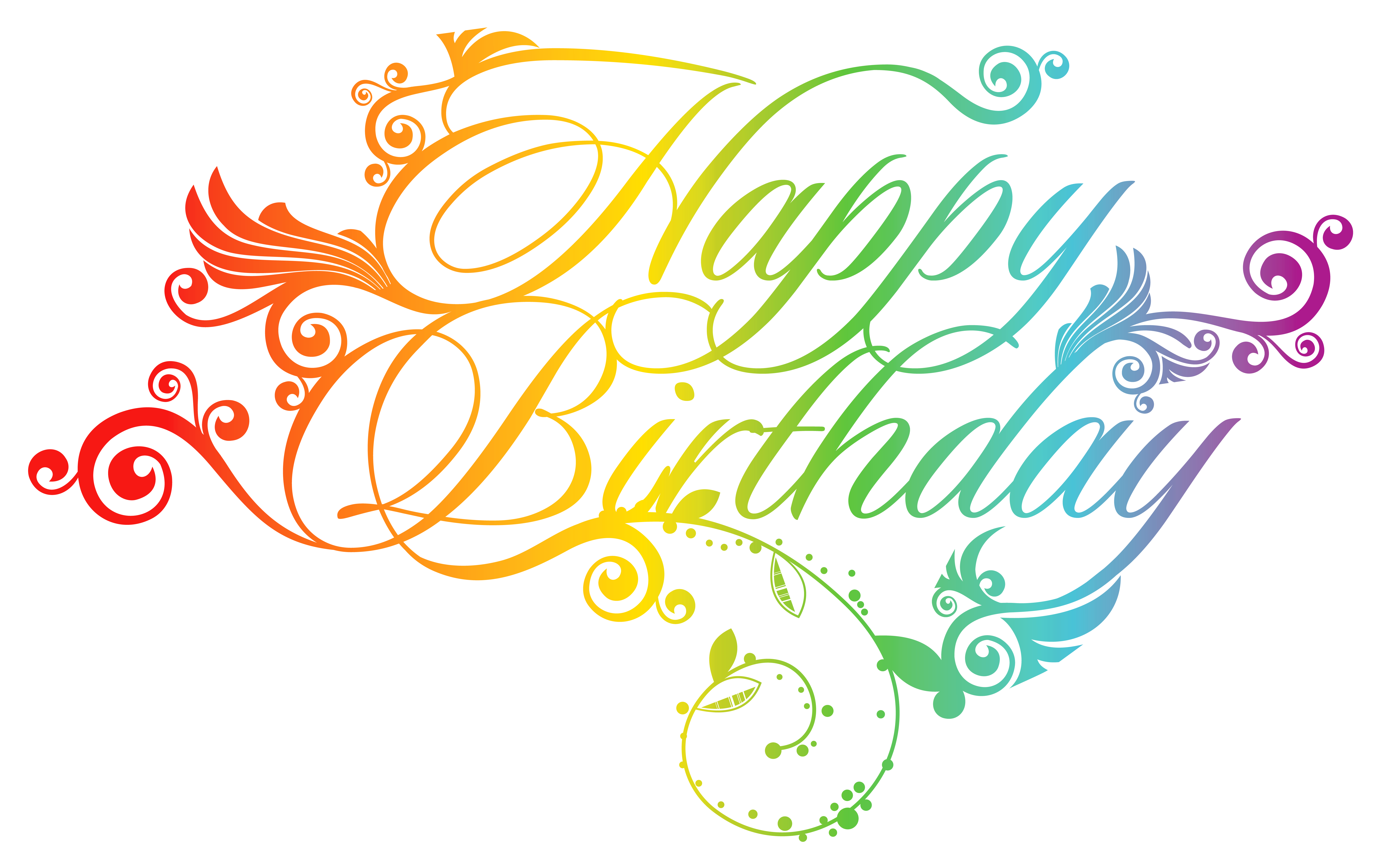 Words clipart computer. Birthday greeting card clip