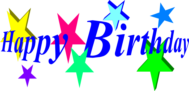 Png word art pinterest. Words clipart happy birthday