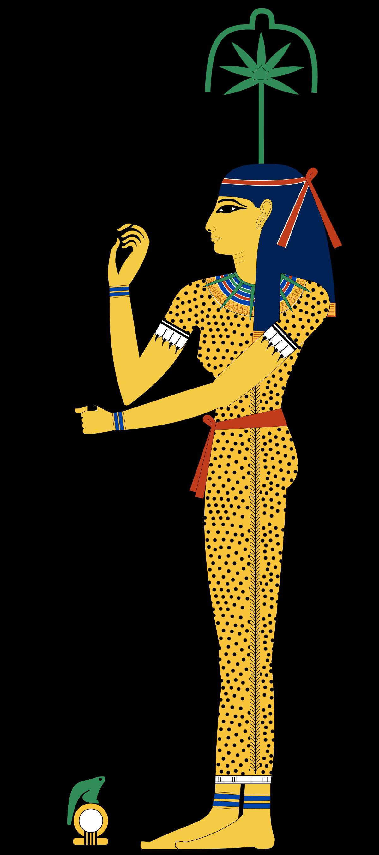 Egypt clipart egyptian figure. Seshat wikipedia