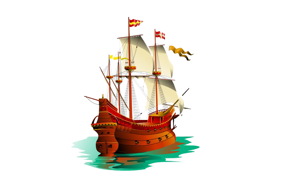 Clipart boat ancient egyptian. Galleon sailing ship clip