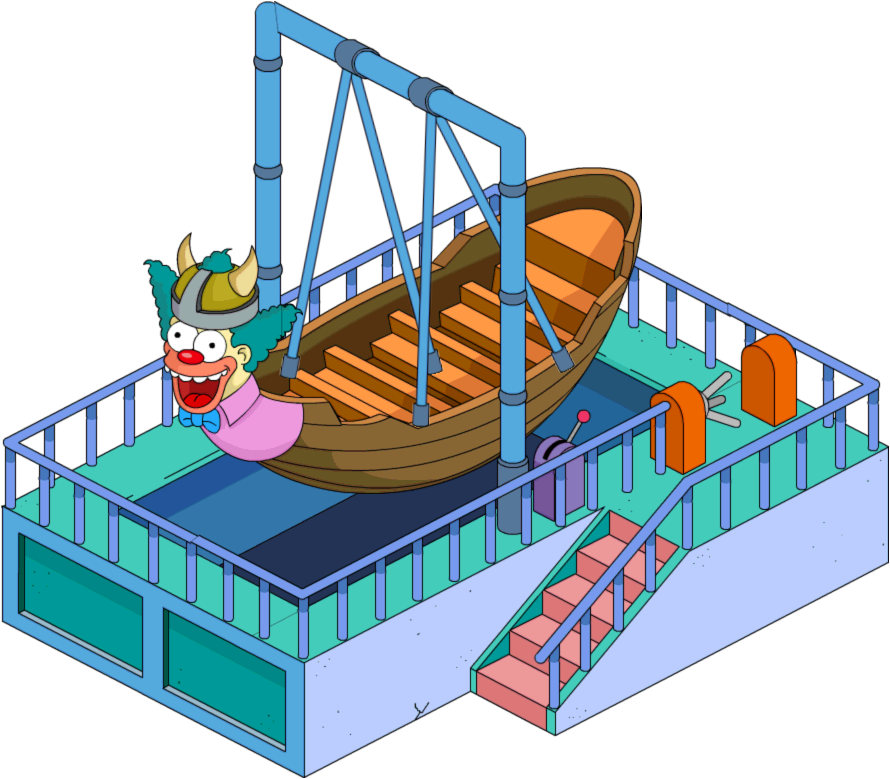 Viking the simpsons tapped. Clipart boat boat ride