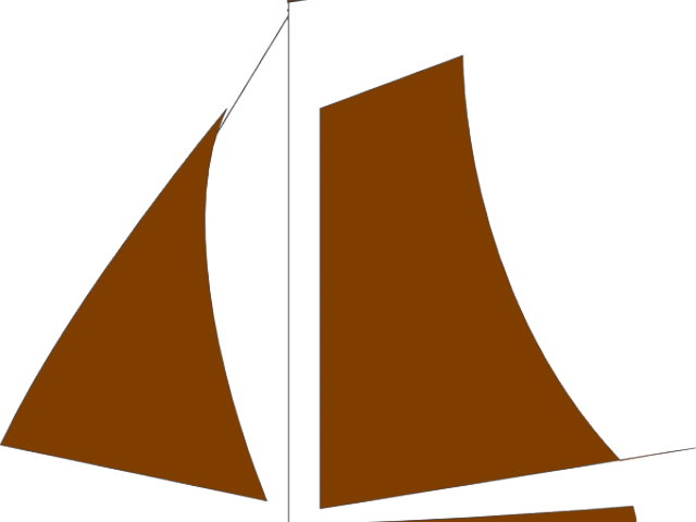 Sailing boat free on. Clipart waves nautical