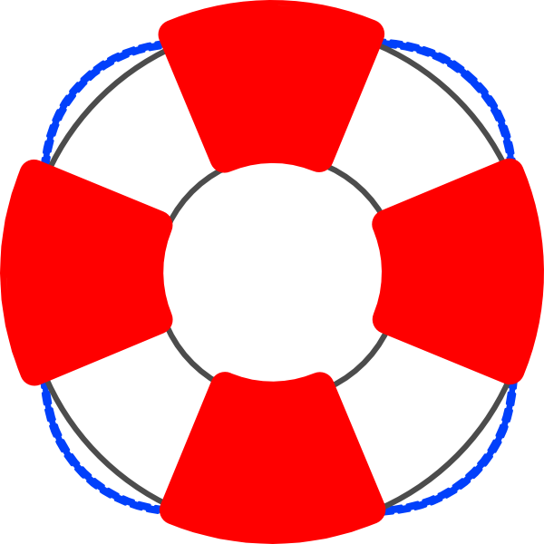 Lifesaver border . Swimsuit clipart floaty