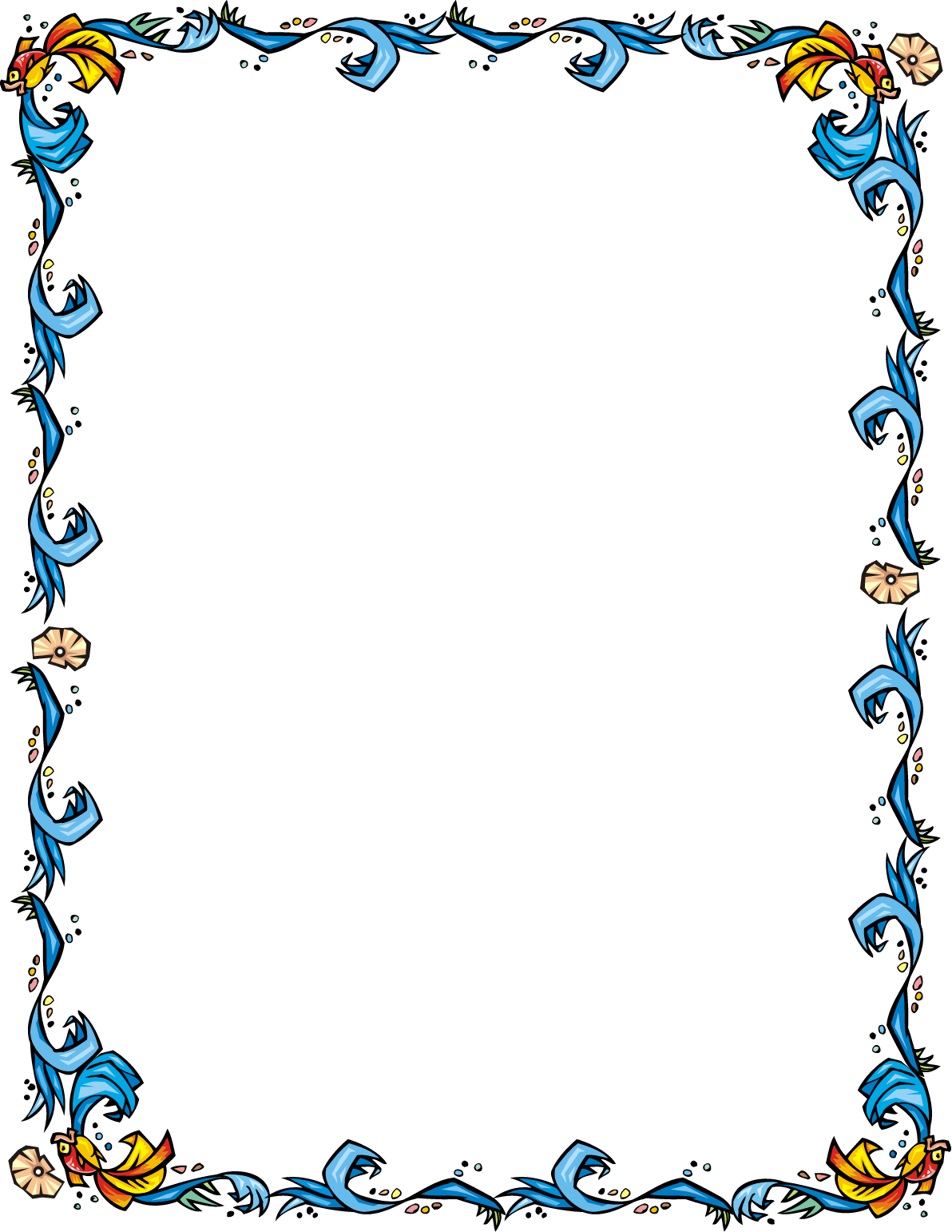Swimming cliparts free collection. Clipart boat border