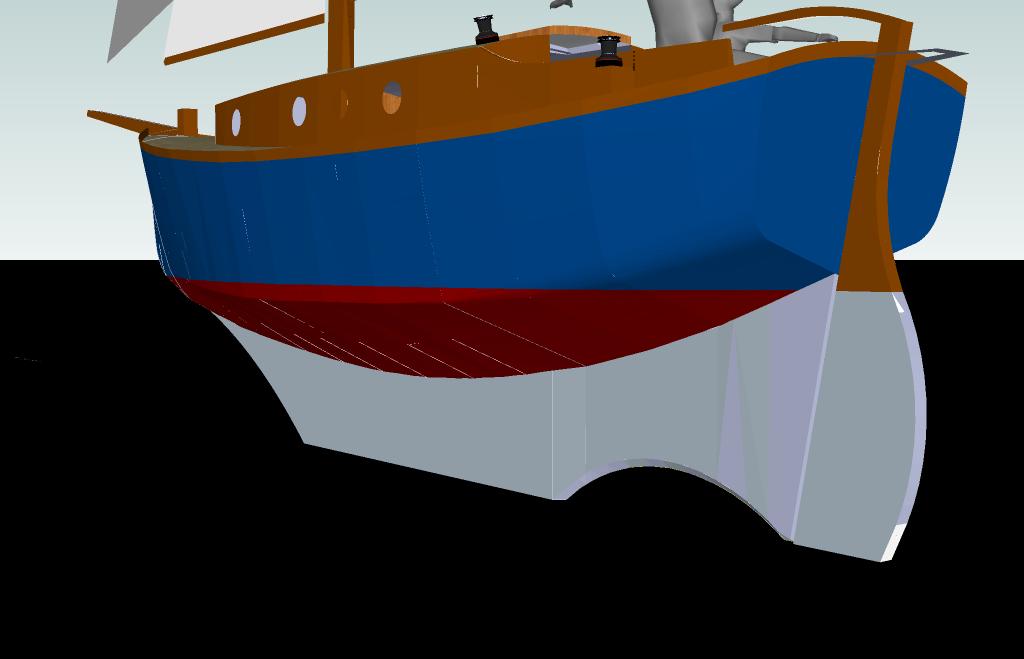 Clipart boat cabin cruiser. Design critique net stern