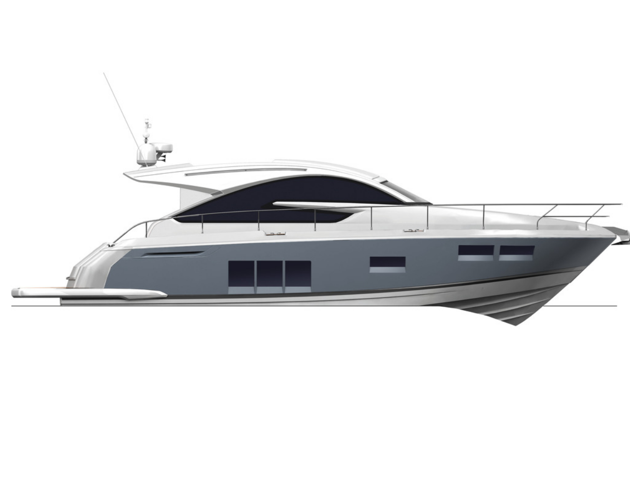 Fairline gt consulyachts layout. Clipart boat cabin cruiser