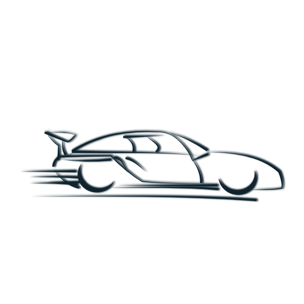 Race clipart tire smoke. Car icon clip art