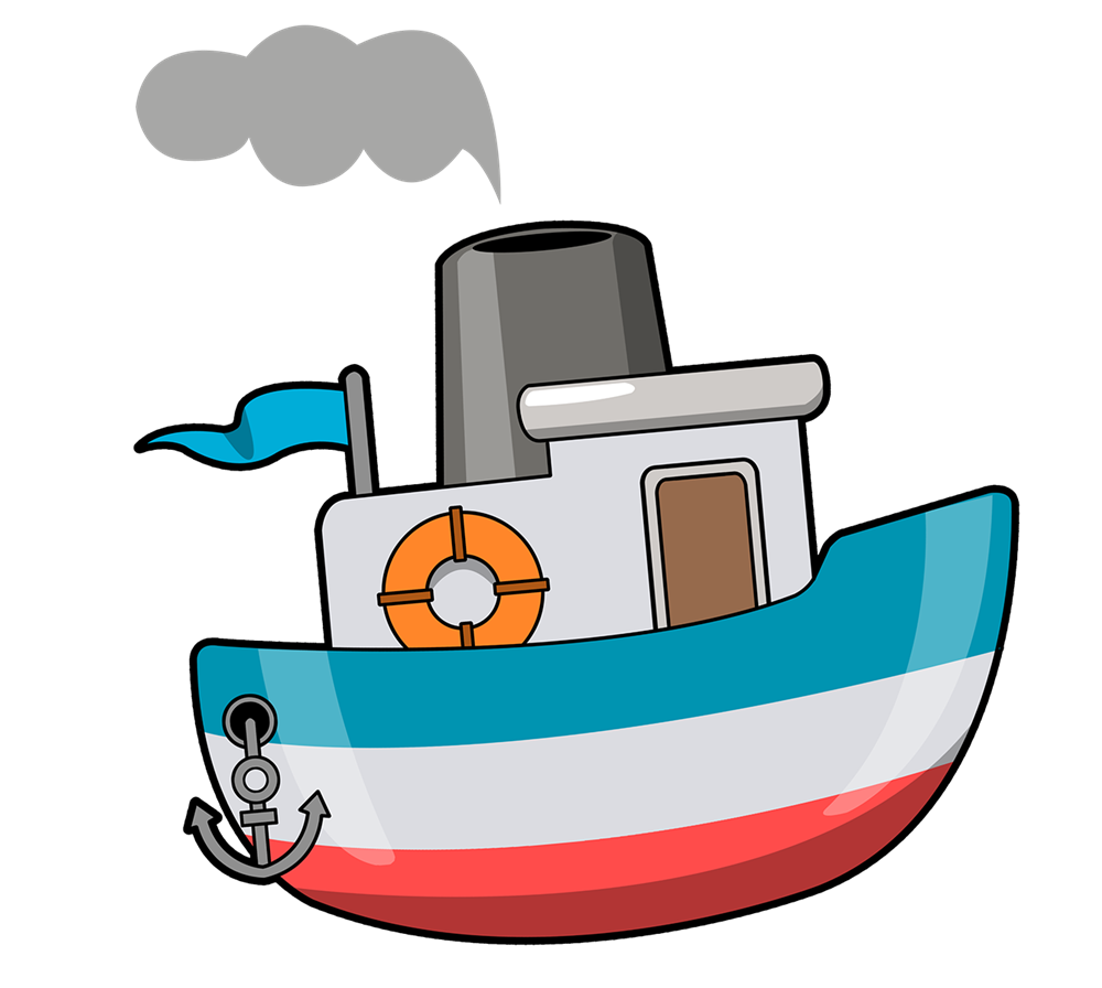 Clipart boat cartoon. Pirate ship free at