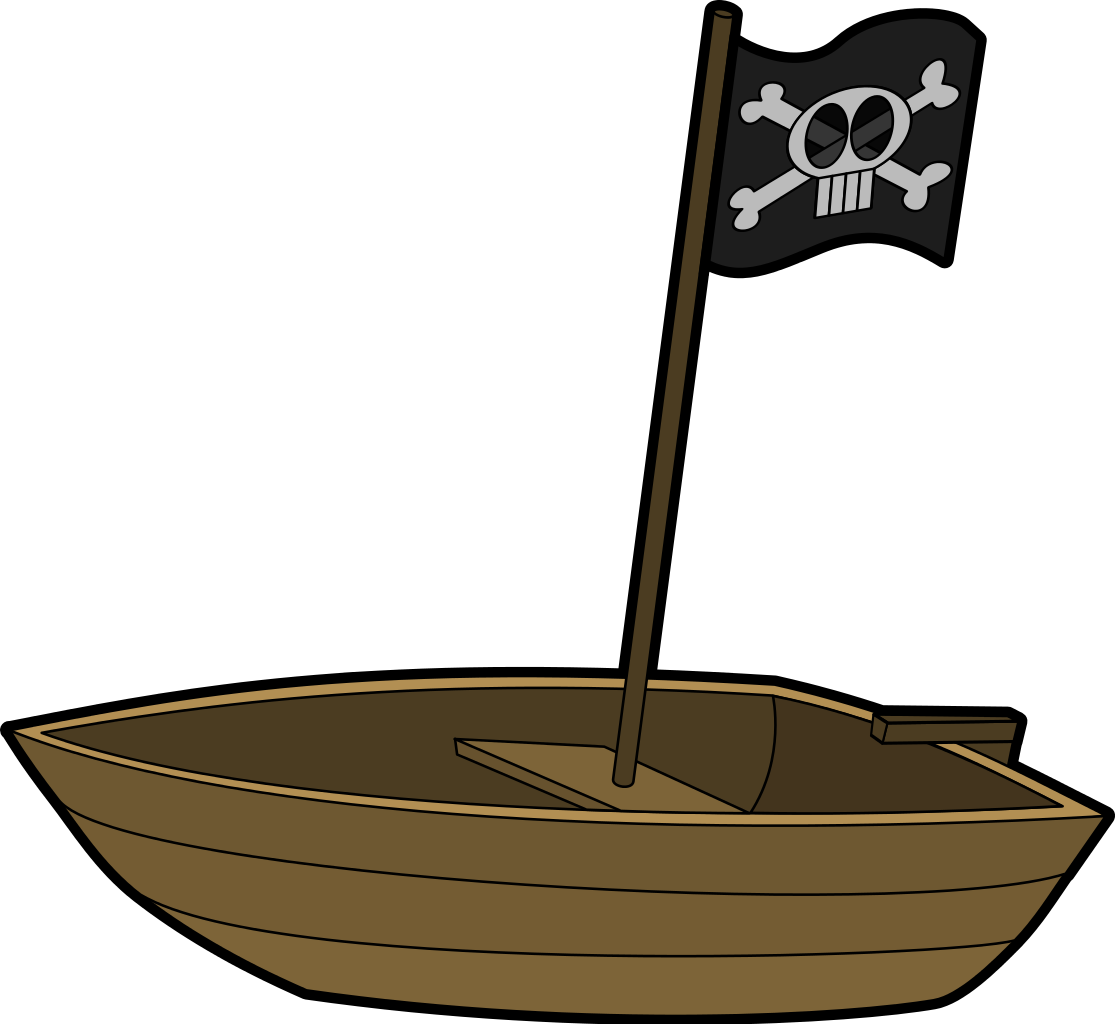 File pirateboat svg wikimedia. Clipart boat clear background