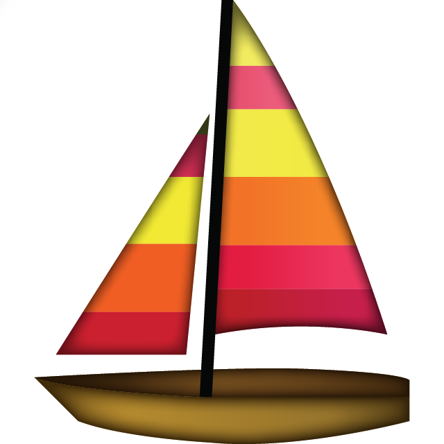 Clipart boat clear background. All emoji products island