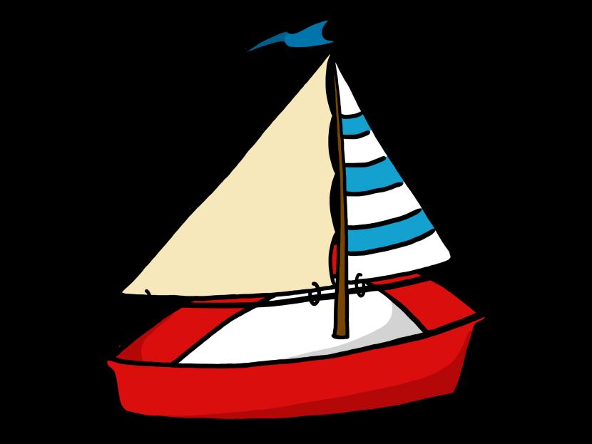 Cartoon clipartbarn. Nautical clipart toy sailboat