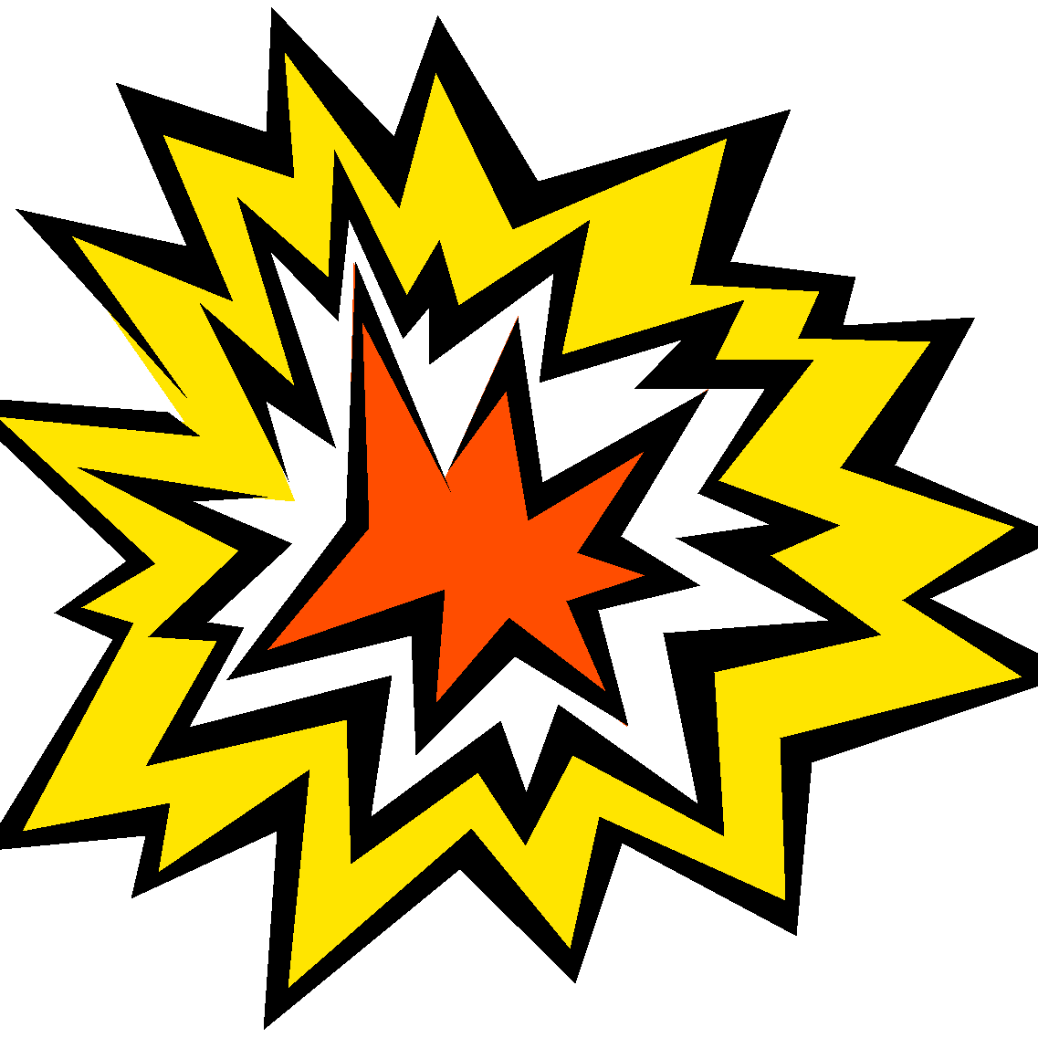 clipart explosion kaboom