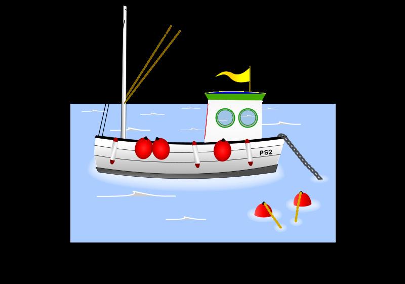 Boat clipart fishing trawler