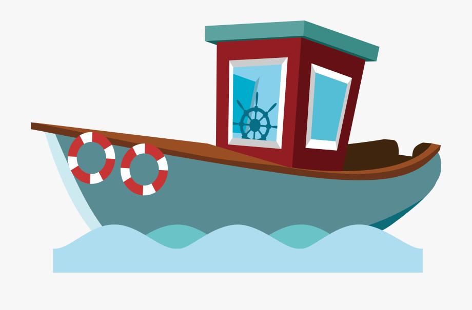 Clipart boat fishing vessel. Fisherman cartoon png