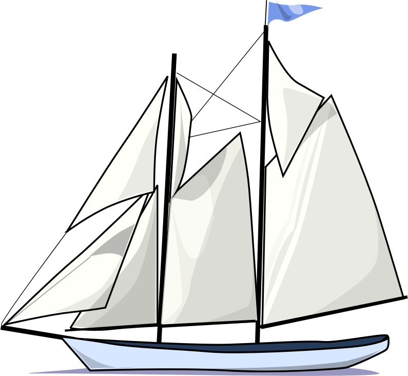 Clipart boat grey. Create brain teaser rectangle