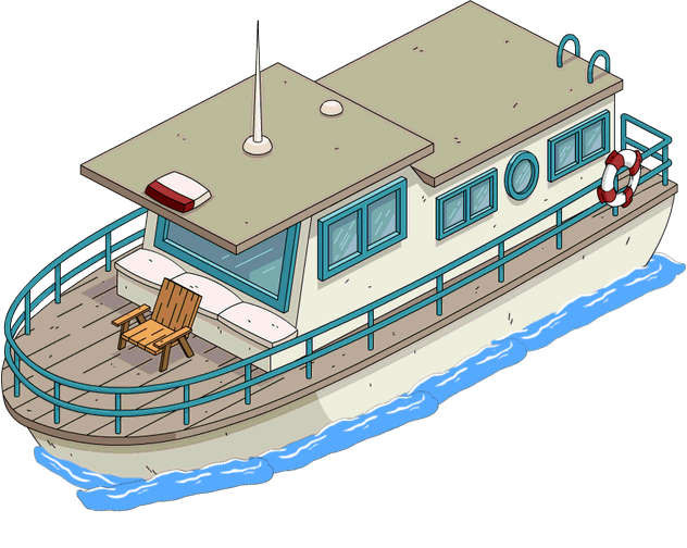 Terwilligers event act upgrade. Clipart boat houseboat