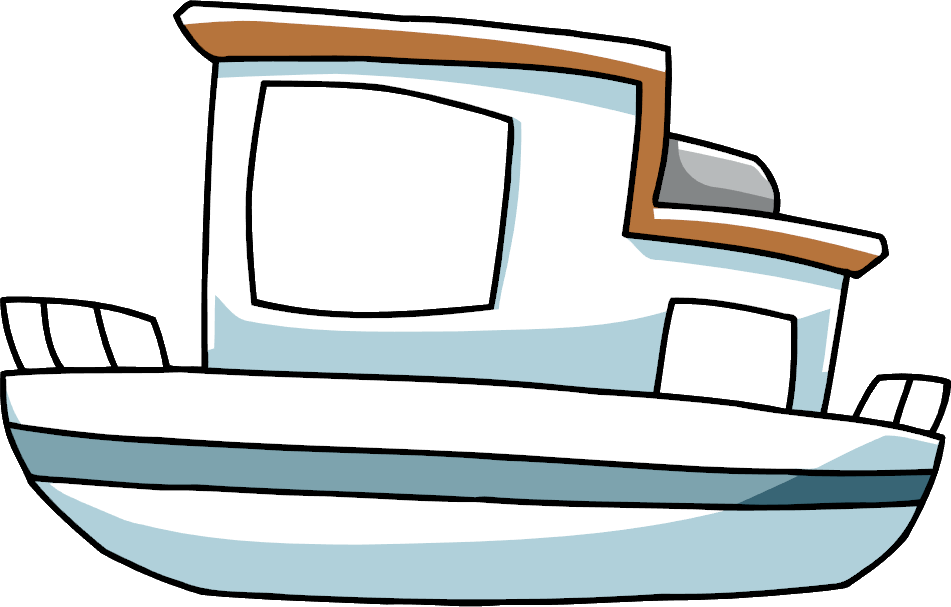Image png scribblenauts wiki. Clipart boat houseboat