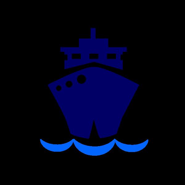 Caribbean island pencil and. Cruise clipart steam ship