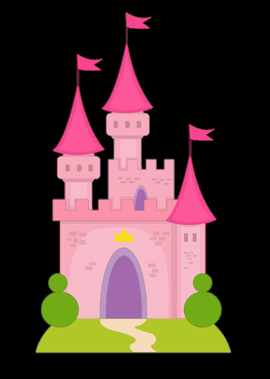 Princesas e pr ncipes. Clipart castle disney