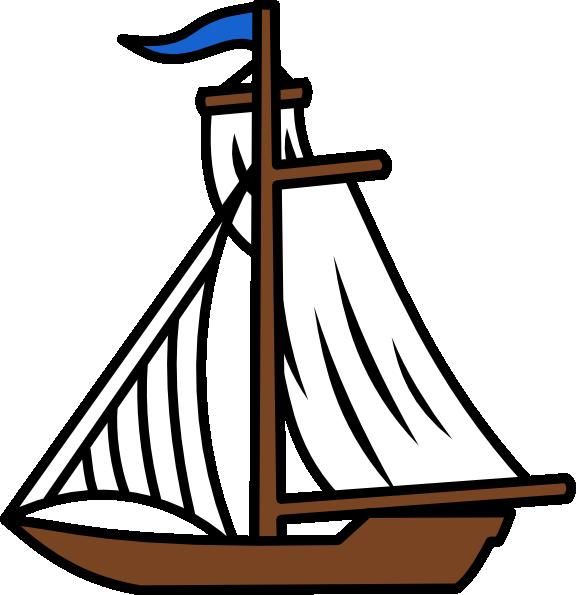 sunset clipart ocean boat