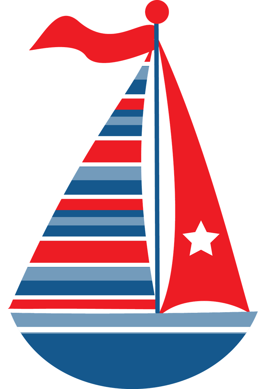 Clipart boat nautical. Sailboat maritime transport clip