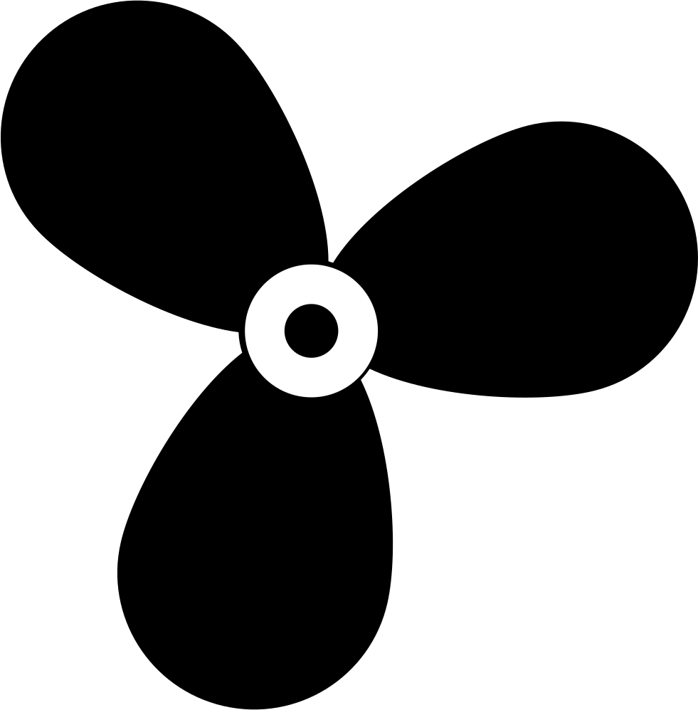 Clipart boat propellor. Propeller svg png icon
